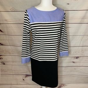 LOFT • jersey knit career dress Small